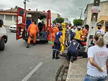 Colisão entre motocicletas deixa feridos em Santana do Ipanema - Correio Notícia