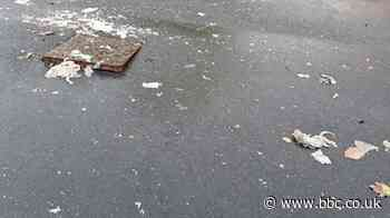 Wallsend street flooded with rats, faeces and sewage