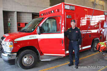 A brand-new ambulance has arrived in Hay River. - Northern News Services