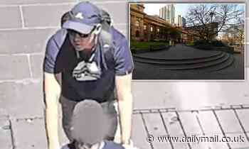 Hunt for man captured on CCTV pushing a wheelchair over alleged assault of a teen in Melbourne