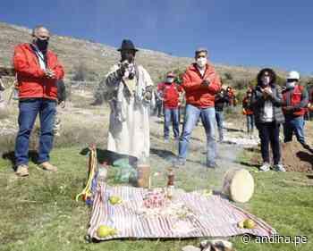 Trabaja Perú: pobladores de Jauja participan de obras en sitio arqueológico Hatun Malca - Agencia Andina