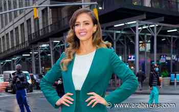 US actress, mogul Jessica Alba shows off Arab labels in New York - Arab News