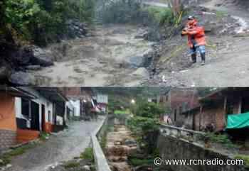 Un puente y tres casas afectadas deja la creciente en Dabeiba, Antioquia - RCN Radio