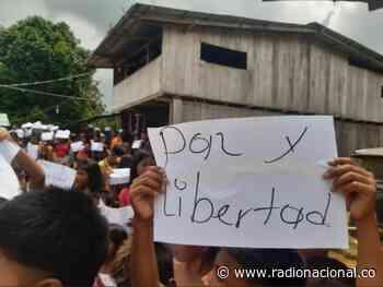 Emergencia en Chocó: desplazamientos y confinamientos de indígenas en Alto Baudó - http://www.radionacional.co/