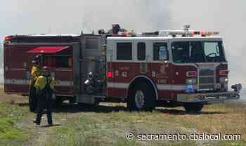 1 Person Detained After Grass Fire In West Sacramento