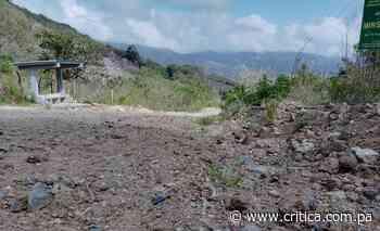 Capireños exigen construcción de vía hacia Cañazas - Crítica Panamá