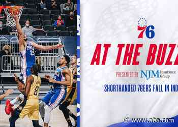 Shorthanded 76ers Fall in Indiana