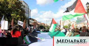 Rassemblement à Toulouse pour les Palestiniens: solidarité populaire et défiance politique - Mediapart