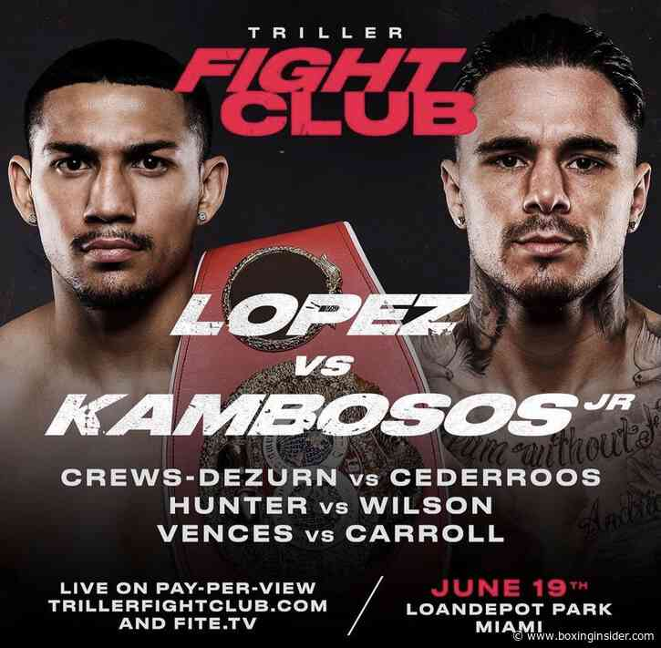 Undisputed Title Fight Between Franchon Crews-Dezurn And Elin Cederroos Set To Co-headline On Teofimo Lopez vs George Kambosos Jr. On June 19th