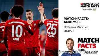 Meister Bayern München in der Match-Facts-Analyse - Bundesliga.de