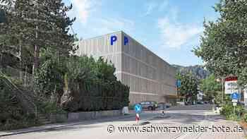 Bauprojekt in Schiltach - Neues Parkhaus bietet Platz für 122 Autos und soll Solarstrom produzieren - Schwarzwälder Bote