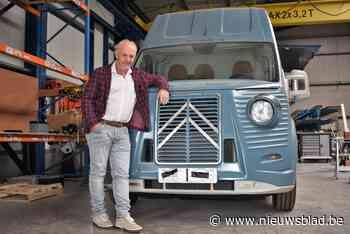 Van elektronicaverkoper naar kok op events: Peter (59) opent foodtruck in legendarische Citroën-bestelwagen