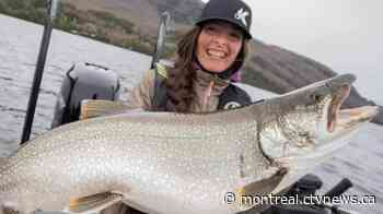 Beginner's luck? Fisherwoman catches 28lbs trout on Lake Memphremagog - CTV News Montreal