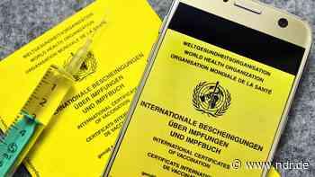 Coronavirus: Wann kommt der digitale Impfpass? - NDR.de
