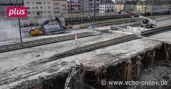 Hochstraßenbau in Ludwigshafen geht voran - Echo Online