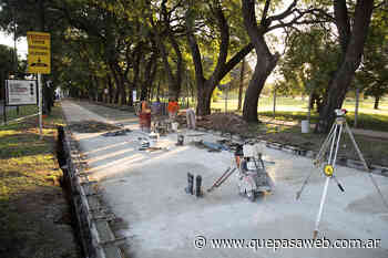 Pavimento nuevo en el bulevar de José María Drago de Villa Adelina - Que Pasa Web