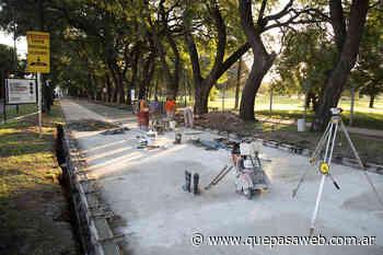Pavimento nuevo en el bulevar de Luis María Drago de Villa Adelina - Que Pasa Web