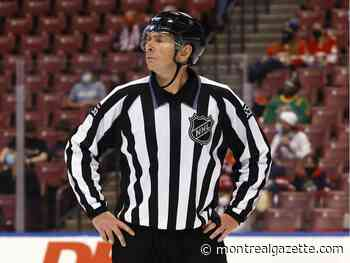Verdun native Pierre Racicot retires after 28 years as an NHL linesman - Montreal Gazette