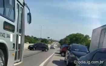 Criminosos fazem arrastão na BR-101 em São Gonçalo - Jornal O Dia