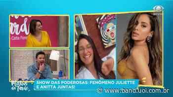 Juliette se hospeda na casa de Anitta, no Rio de Janeiro - Entretenimento Band
