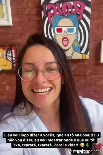 Juliette se hospeda na casa de Anitta, no Rio de Janeiro: 'Zerei a vida' - Extra
