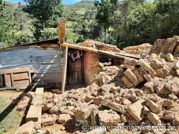 Ayabaca: familia salva de morir tras derrumbe de vivienda en Pacaipampa - El Regional