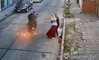Así detuvieron a un motochorro en Castelar: era inspector de tránsito de la municipalidad de Moreno - BigBangNews