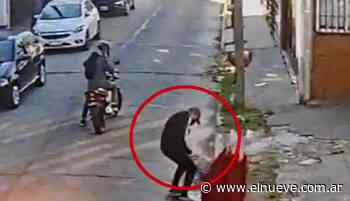 Motochorros atacaron a una mujer en Castelar - Policiales TL9, TL9 Noticias (Clips) - telenueve