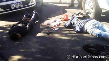 Castelar Norte: Dos Motochorros armados detenidos Castelar: Dos Motochorros armados detenidos - Anticipos