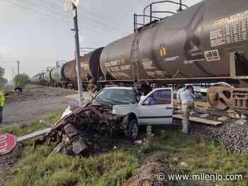 Incidente entre automóvil y tren deja un herido en Tlaxcoapan - Milenio