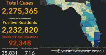 Florida Reports Another 3263 New Coronavirus Cases - WUSF News