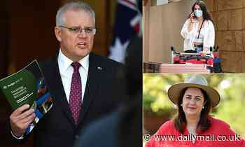Scott Morrison urges lockdown-happy premiers not to use Australia's border closure as an excuse