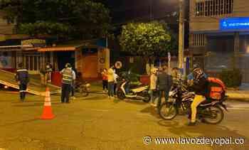 Controles a la restricción de circulación de motos en Yopal - Noticias de casanare | La voz de yopal - La Voz De Yopal