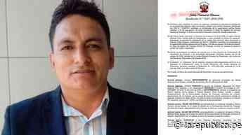 Pacanga   JNE   Designan nuevo alcalde en distrito liberteño en plena emergencia   noticia   LRND - LaRepública.pe