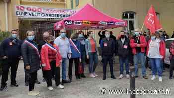 Manifestation à la perception d'Elne : sept sites menacés de fermeture dans les P.-O. selon les syndicats - L'Indépendant