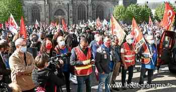 À Hennebont, l'avenir de la Fonderie de Bretagne au cœur du défilé du 1er mai - Le Télégramme
