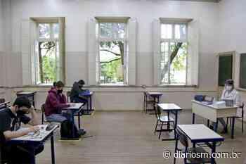 Retorno das aulas estaduais tem baixa adesão de alunos em Santa Maria - Diário de Santa Maria
