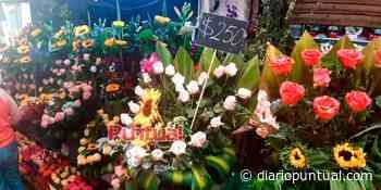 VIDEO. En Puebla, florerías reportan aumento en vetas del 80% - Diario Puntual