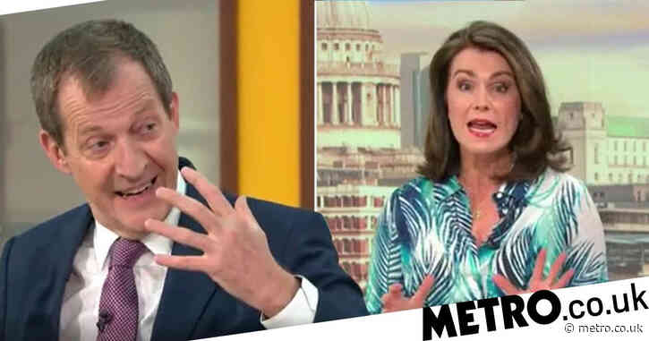 'Don't get defensive': Alastair Campbell hits out at Susanna Reid as pair clash over whether it's rude to call people by surname