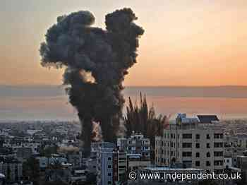 Israel news - live: Hamas rocket attacks kill five Israelis, as Gaza death toll rises to 35 and unrest spreads