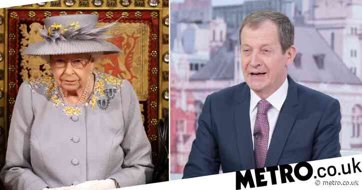 Alastair Campbell 'accidentally announces' the Queen's death on Good Morning Britain in almighty blunder