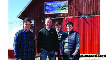 News Coaticook farm wins gold for exceptional milk quality - Sherbrooke Record