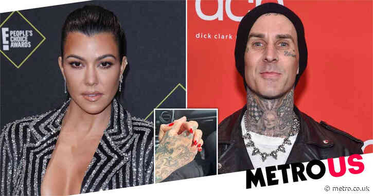Travis Barker proudly shows off candle that smells like Kourtney Kardashian's orgasm as romance heats up
