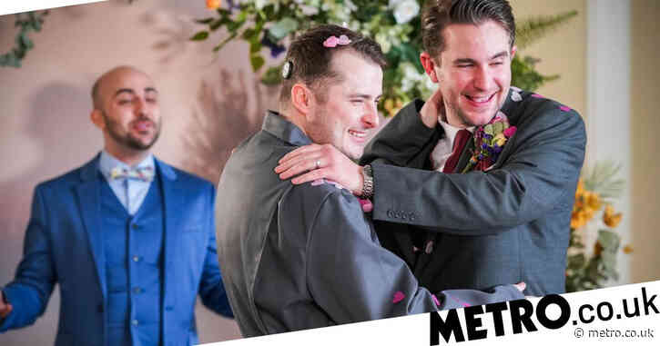 EastEnders fans celebrate Ben and Callum's wedding by raising charity money