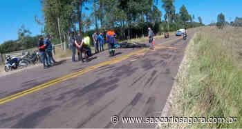 Colisão frontal entre motos mata duas pessoas perto de Itirapina - São Carlos Agora