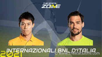 2021 Italian Open First Round – Kei Nishikori vs Fabio Fognini Preview & Prediction - The Stats Zone