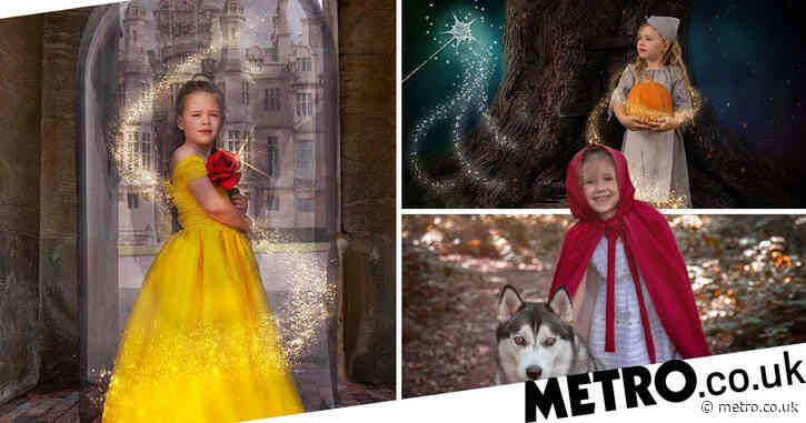 Photographer creates stunning fairytale pictures with her daughter to tackle lockdown boredom