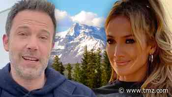 J Lo and Ben Affleck Hanging Out in Montana - TMZ