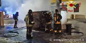 Montecchio Maggiore: fuoco al distributore carburante - Vicenzareport