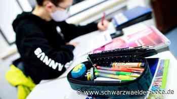 Abitur in Oberndorf - Prüflinge lassen sich aus Sorge vor positivem Ergebnis kaum testen - Schwarzwälder Bote